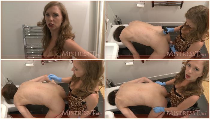 london slave ass fucked with head in toilet