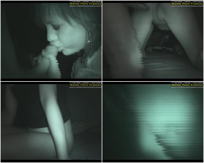 Nightvision emo teen girl fucking