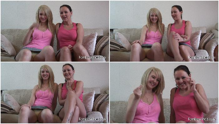 Princess Katie K Princess Amber Katie and me would love to see how big your cock