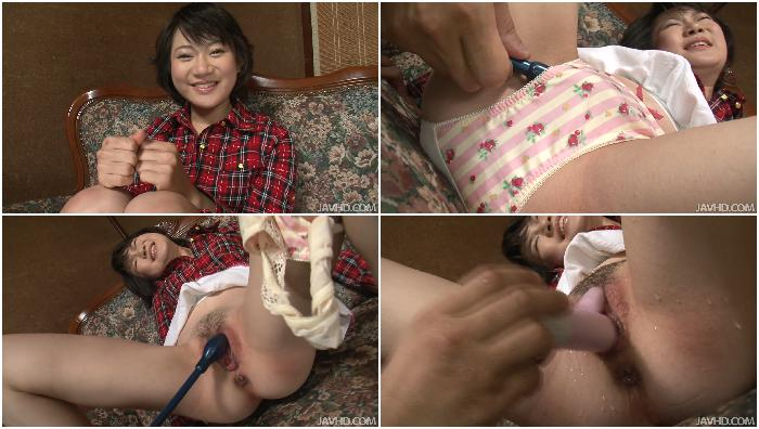06922 Aoba Itou Sex Toys In Her Ass Makes Aoba Itou's Pussy Squirt