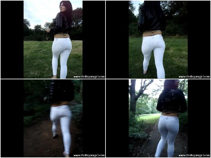 candid white jeans
