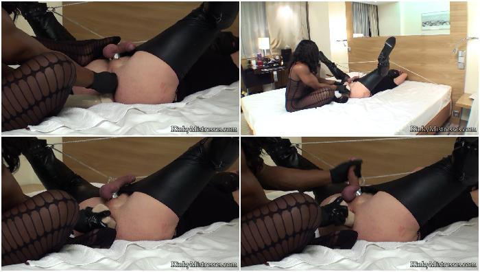 anal stretching and milking complete hd