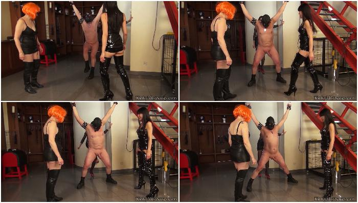 ballbusting with 3 ladies complete hd