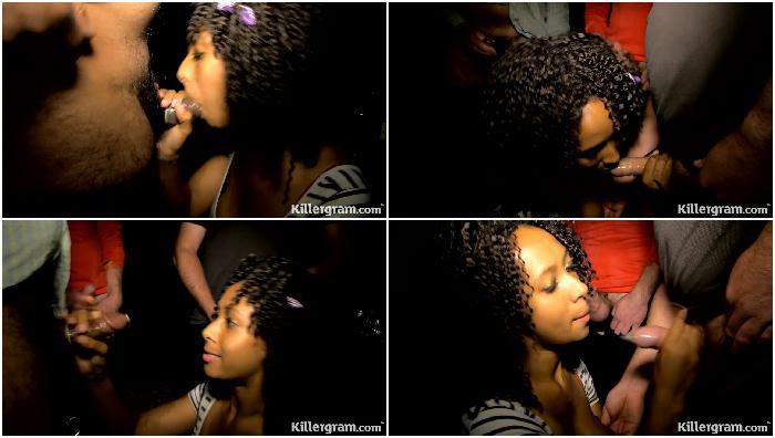 Daniella Dee Hot Ebony Dogging HD