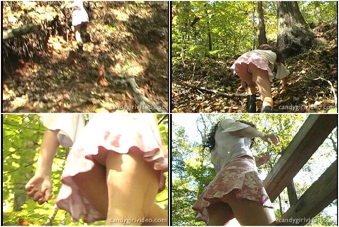 Jenni Lee - Outdoor Upskirt