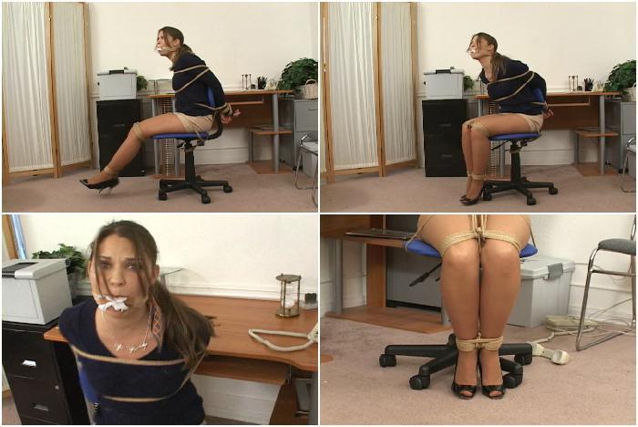 Anna Nolan - Secretary Anna Bound & Gagged