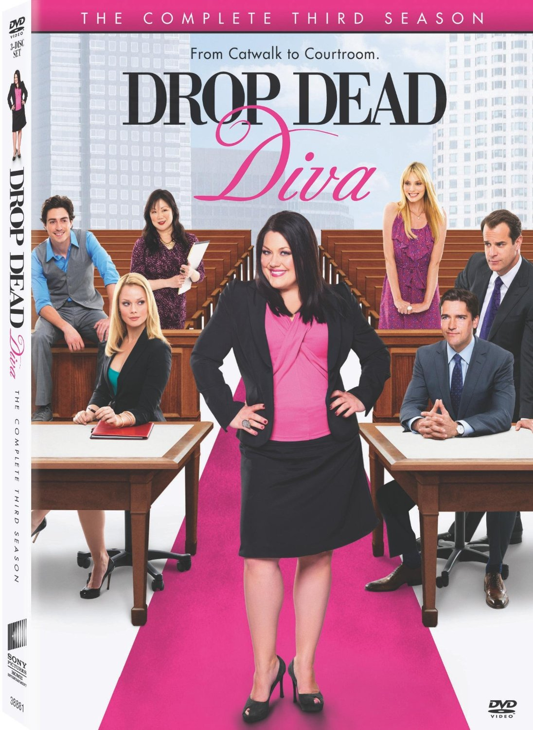 Drop dead diva complete season 3 - Drop dead diva dvd ...