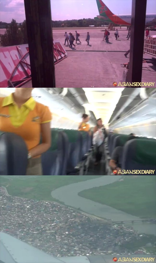 AsianSexDiary - Flight Cebu Manila Bangkok Then To Pattaya