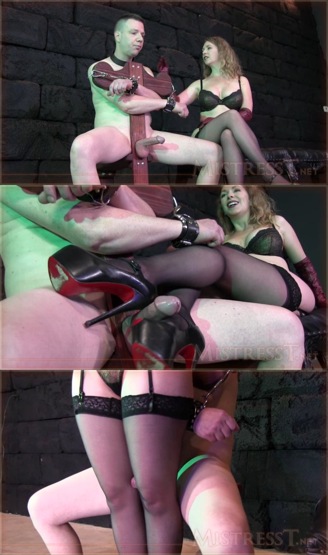 Mistress T - Bound FemDom Gloved Milking_cover,
