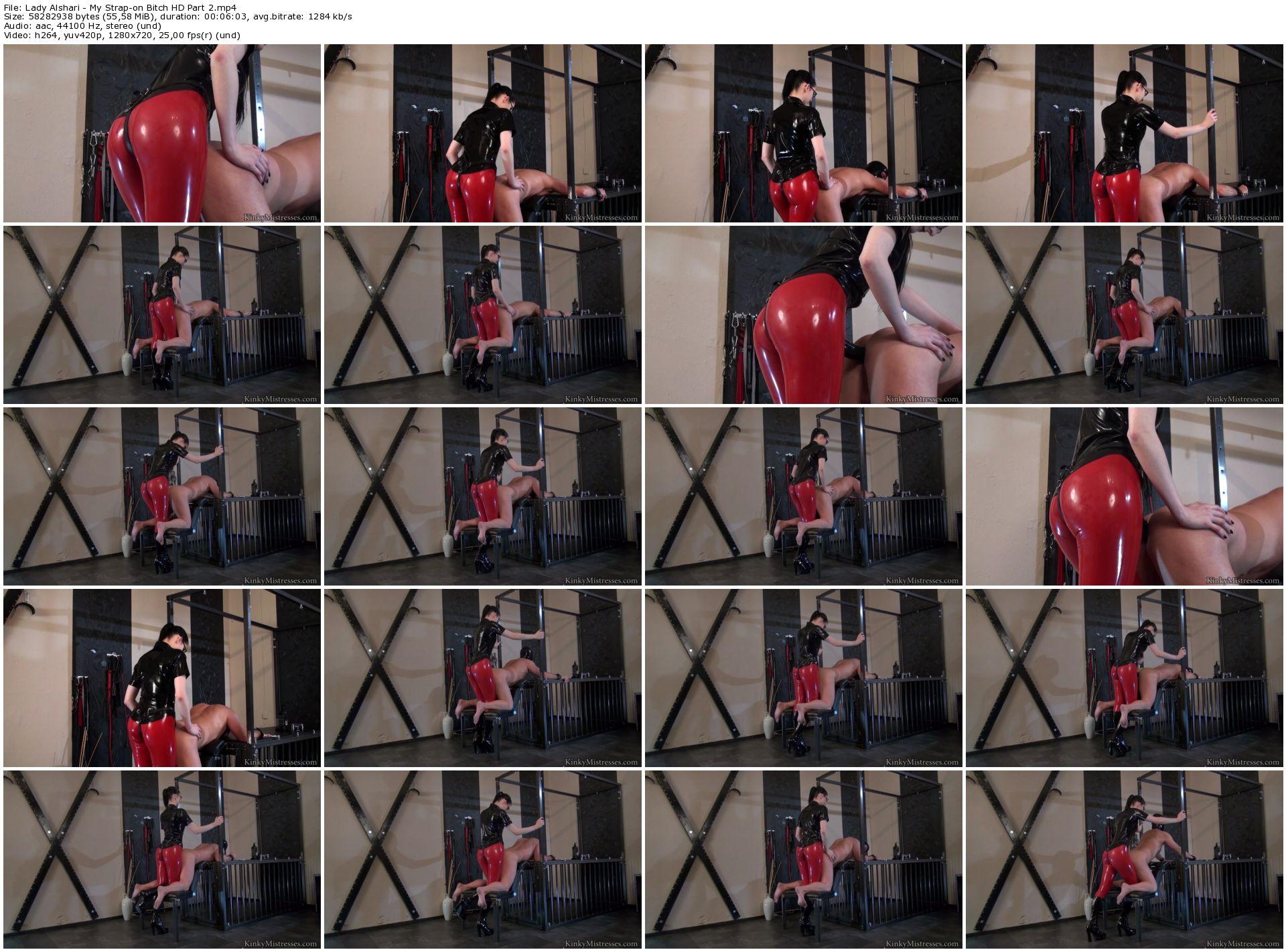Lady Alshari - My Strap-on Bitch HD Part 2_thumb,