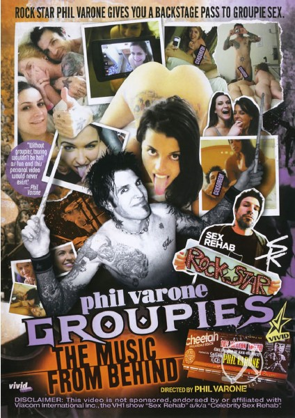 Phil Varones Groupies - The Music From Behind (2014)