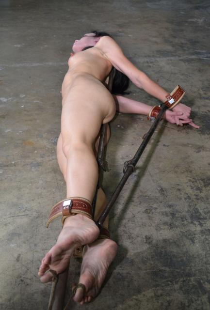 Grace Under Pressure Part One - Bondage, BDSM
