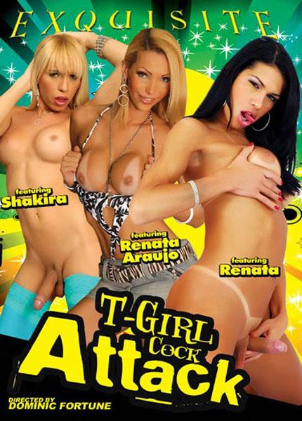 T-Girl Cock Attack (2013) - TS Renata Araujo, Shakira, Renata