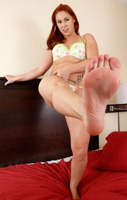 Edyn Blair Masturbation - Foot Fetish