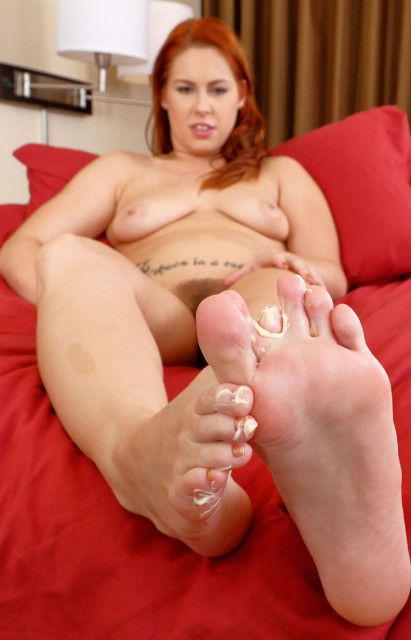 Jenna lovely foot fetish fuck 2