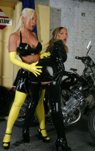 Is this some kind of perverted dream? - Latex Sex