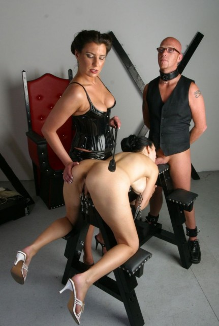 This slut gets more than she bargained for - Femdom
