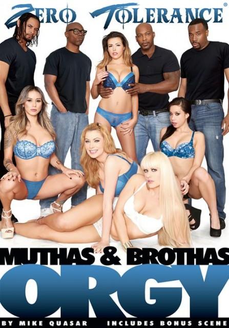 Muthas and Brothas Orgy (2015) - Danica Dillon, Sasha Sean