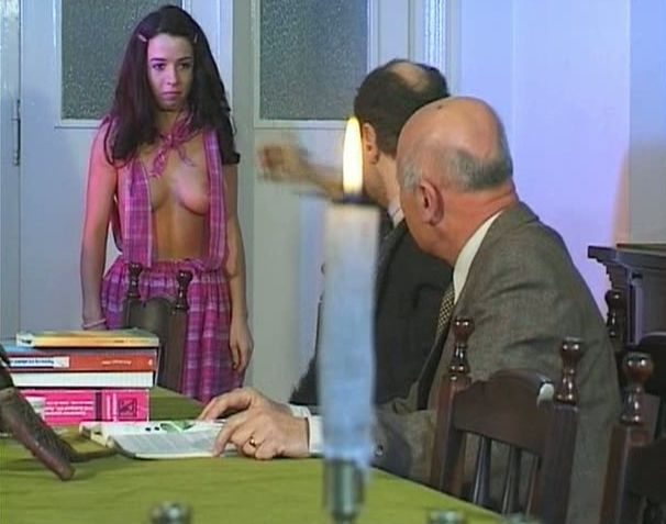 Euro sluts take dildo and cocks - Old Man and Teen