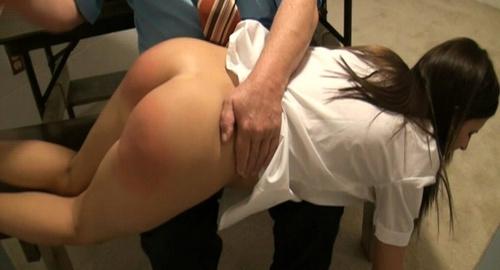Hardcore spanking movie