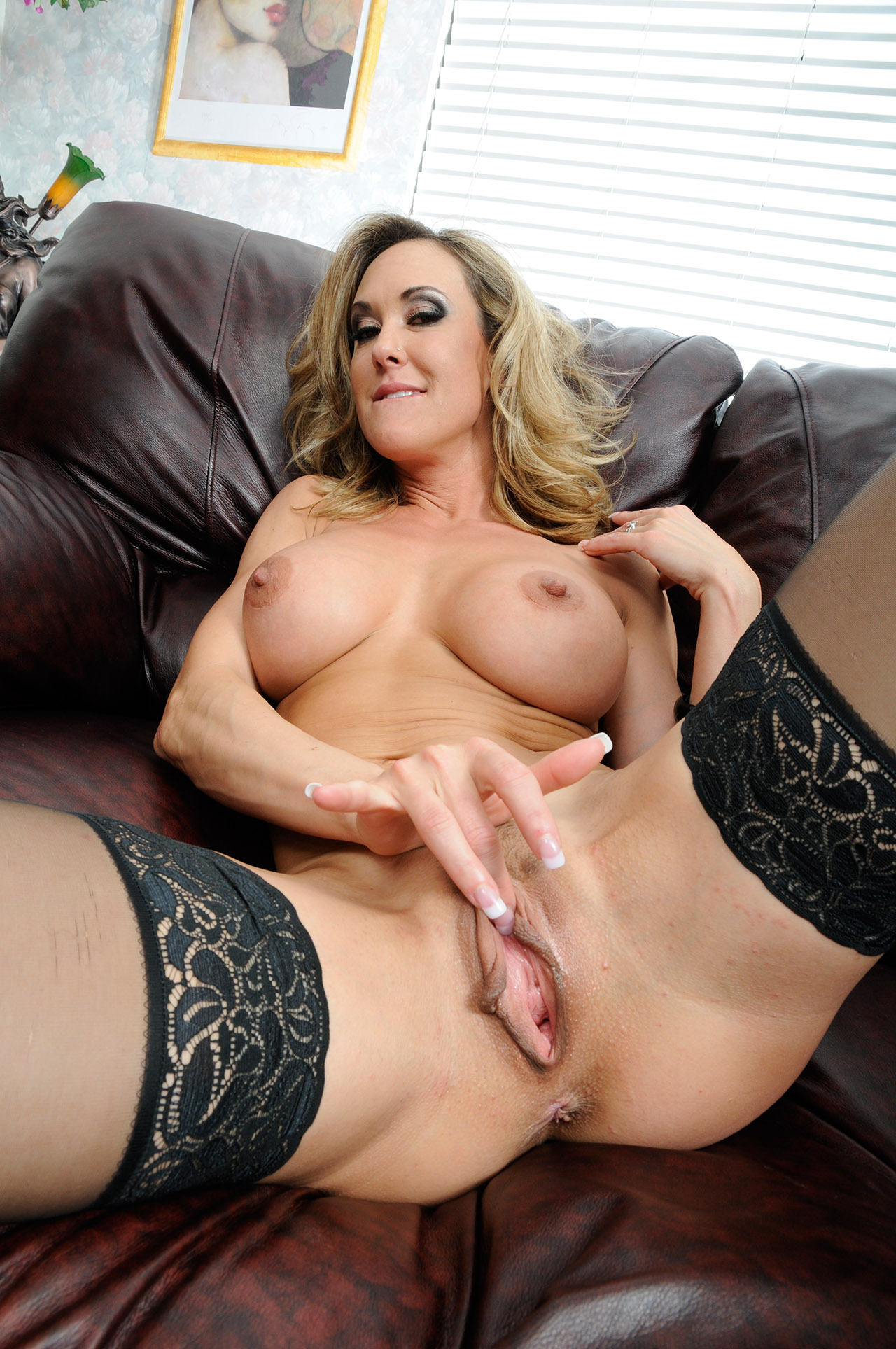 image Busty brandy aniston is eaten out passionately by her man