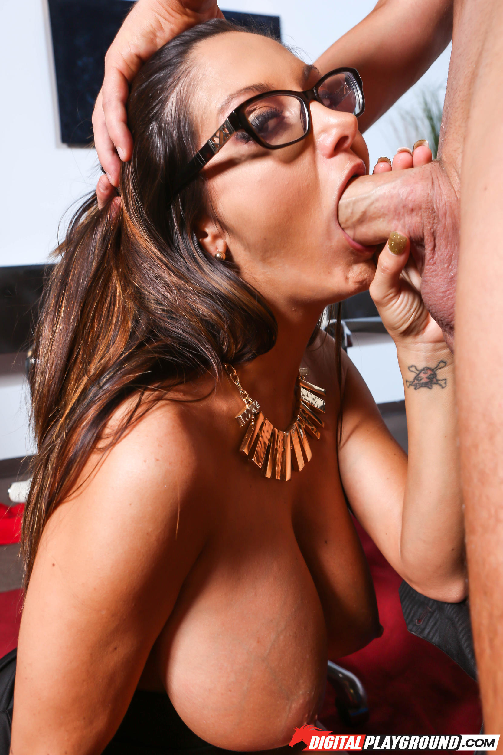 Ava adams blowjob