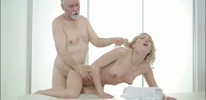Bridled Young Masseuse