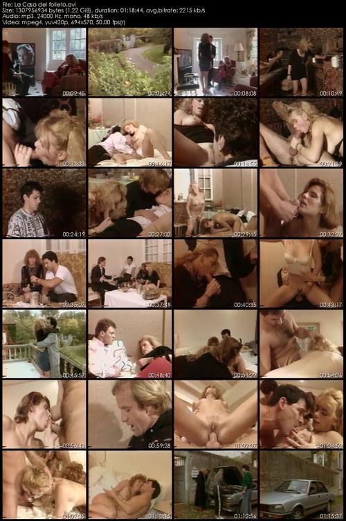 La casa del folleto (aKa anal maniac) 1991