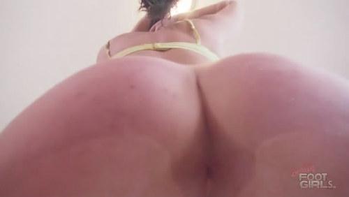 Dakota's Asshole facesitting POV