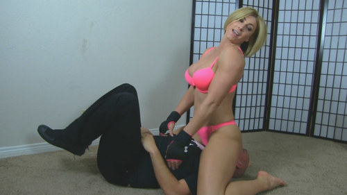 Big girl beat down