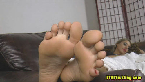 image Ftkl feets of tickle fury pt 12 lucy039s lesson in laughter
