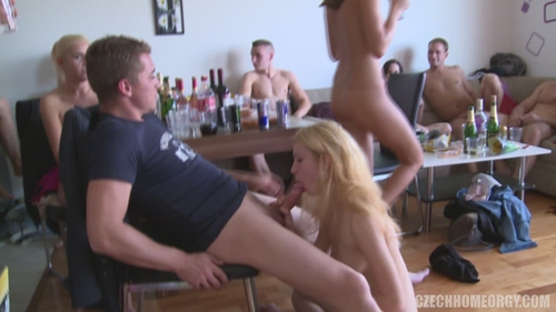 Czech Home Orgy 9 part 3