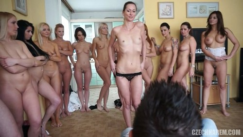 czech harem sex v leginach