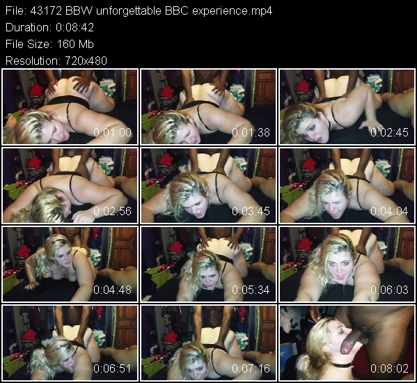 An unforgetable experience of a woman with bbc
