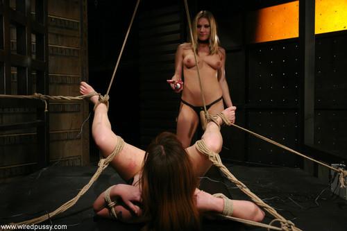 hugetits femdom wrestling bondage