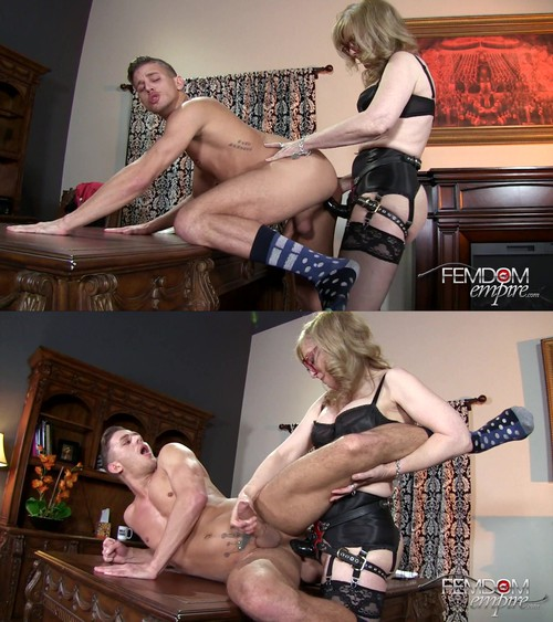 Nina Hartley - Strapon Correction [FullHD 1080p] (FemdomEmpire)