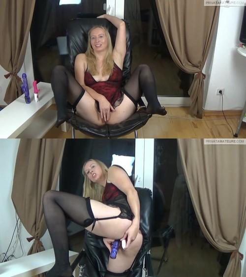 SophiaGold - Mein 1. Anal Orgasmus mit Dildo!!! [HD 720p] (MDH)
