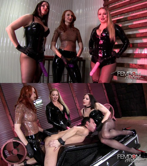 Alexandra Snow, Kendra James, Lexi Sindel - Femdom All-Star Gang Bang [FullHD 1080p] (FemdomEmpire)