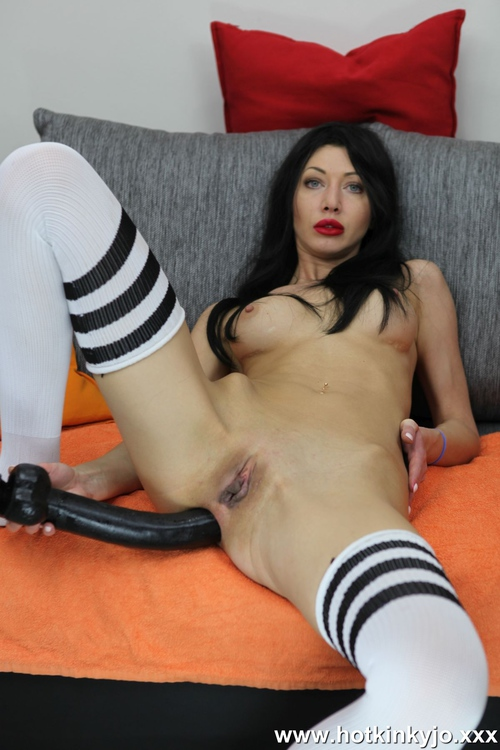 HotKinkyJo - Black, long and deep [FullHD 1080p] - HotKinkyJo.XXX