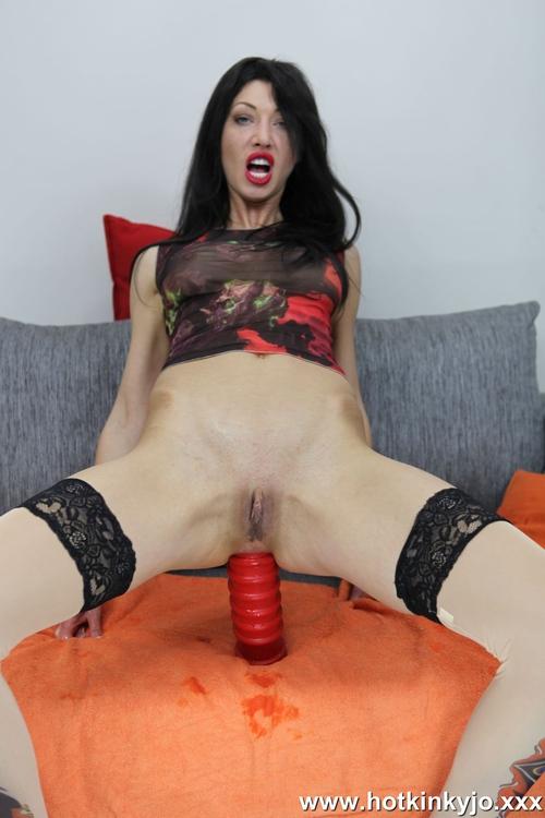 HotKinkyJo - Red anal terrorist fuck [FullHD 1080p] (HotKinkyJo)