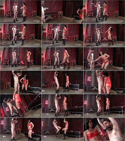 Kristina Rose - Kristina's Cruel Ballbusting Game [FullHD 1080p] (FemdomEmpire)