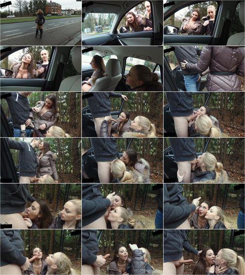 Lucy-Cat - Auf der Strabe in Belgien! Franz.Natur/Gesichtsbesamung [FullHD 1080p] (MDH)