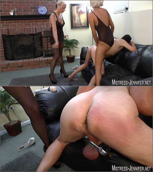 Mistress Jennifer - Pain for balls and cock of slave P.4 [HD 720p] (Femdom)