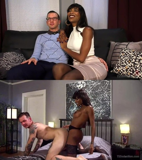 TsSeduction - Natassia Dreams, Will Havoc - Will Havoc Has Every Hole & Dream Satisfied by Sexy Black Cock [SD 540p]