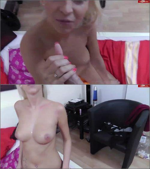 Blonde-Nymphe - Ich hole mir jeden Tropfen Sperma [HD 720p] (MDH)