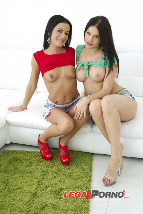Legalporno - Kitana Lure & Inga Devil [Kitana Lure & Inga Devil double anal (DAP) foursome SZ1015] (HD)