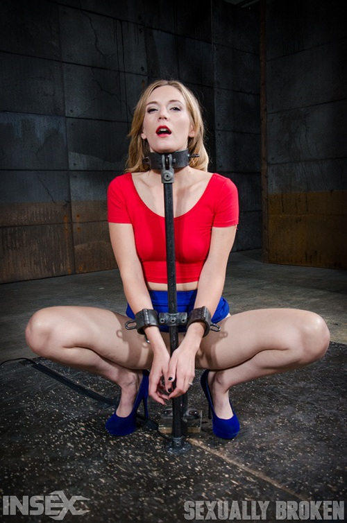 Smoking hot blonde Mona Wales shackled down, facefucked by BBC and vibrated  into a drooling mess!