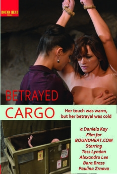 Betrayed cargo maybe massage will relax her