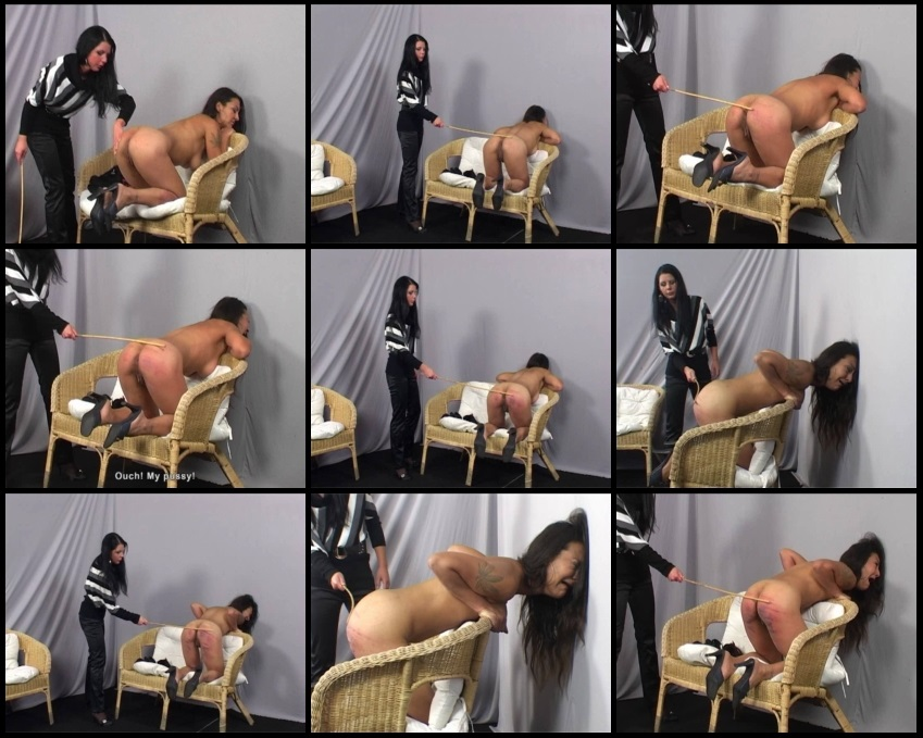 Caning casting monica matos and monika 1
