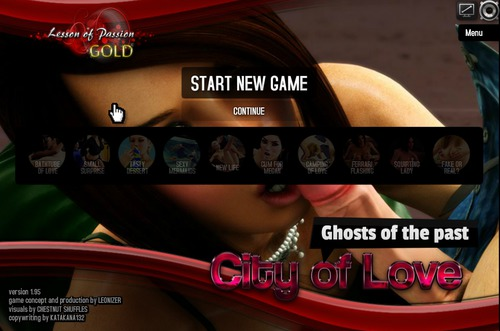 445 m - Lesson of Passion Gold - City of Love : Ghosts of the Past v1.97